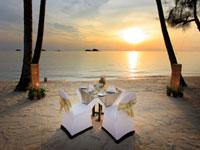 diner sur la plage emerald cove hotel