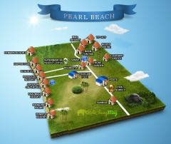 Carte-plan-pearl-beach-MAP