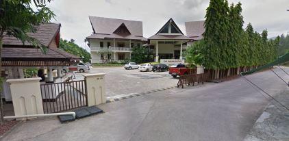Entrée Emerald Cove hotel Koh Chang