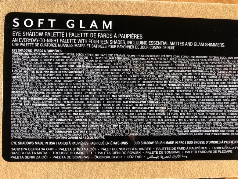 soft glam, palette,